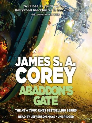 cover image of Abaddon's Gate