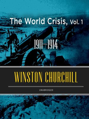 cover image of The World Crisis, Volume 1