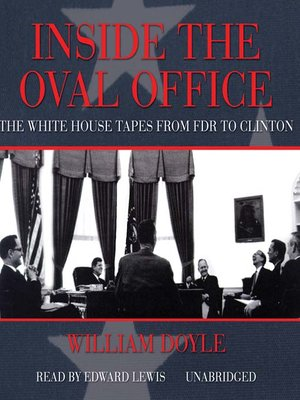 cover image of Inside the Oval Office