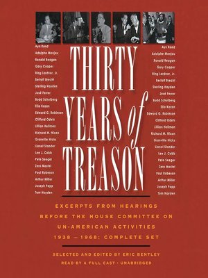 cover image of Thirty Years of Treason