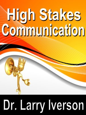 cover image of High Stakes Communications