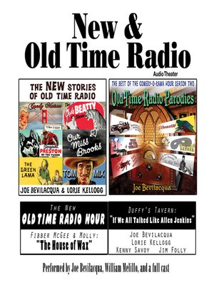 cover image of New & Old Time Radio