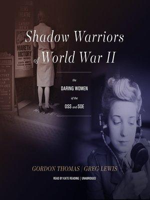 cover image of Shadow Warriors of World War II