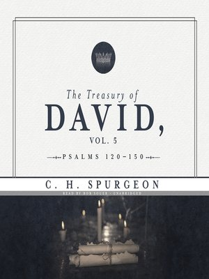 cover image of The Treasury of David, Volume 5
