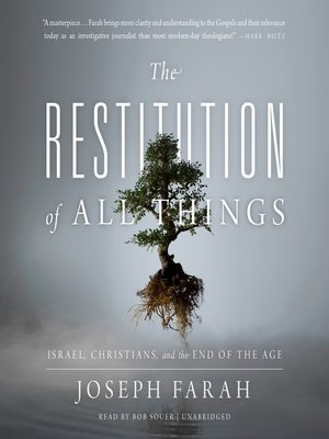 cover image of The Restitution of All Things