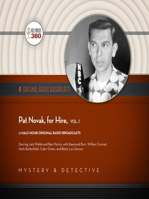 cover image of Pat Novak, for Hire, Volume 1