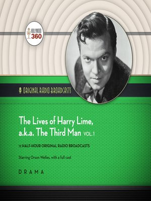 cover image of The Lives of Harry Lime, a.k.a. the Third Man, Volume 1