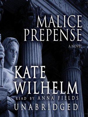 cover image of Malice Prepense