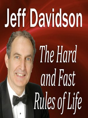 cover image of The Hard and Fast Rules of Life