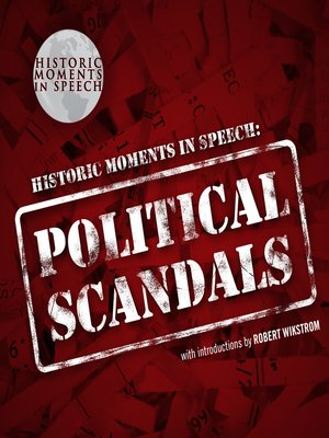 cover image of Political Scandals