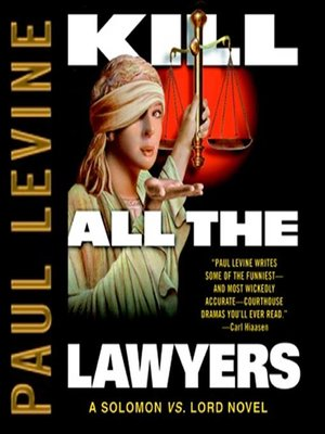 cover image of Kill All the Lawyers