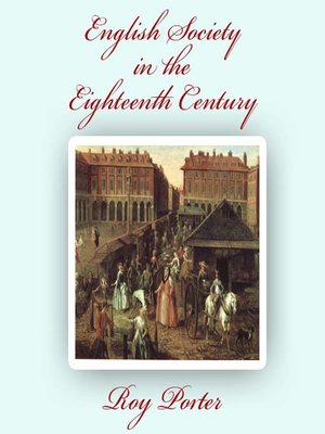 cover image of English Society in the Eighteenth Century