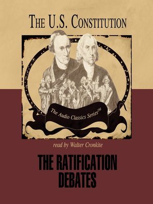 cover image of The Ratification Debates