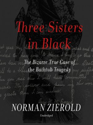 cover image of Three Sisters in Black
