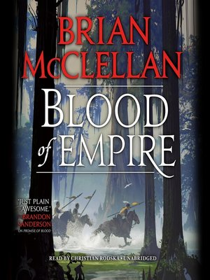 cover image of Blood of Empire