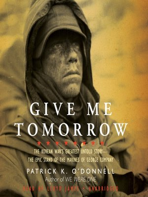 cover image of Give Me Tomorrow