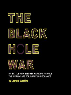 cover image of The Black Hole War