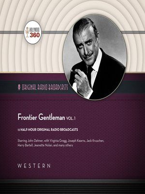 cover image of Frontier Gentleman, Volume 1