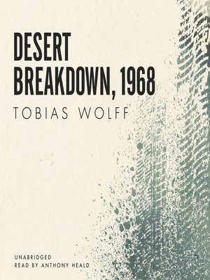 cover image of Desert Breakdown, 1968