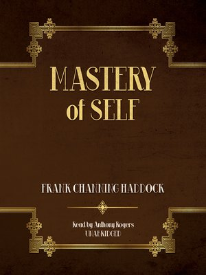 cover image of Mastery of Self