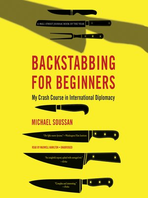 cover image of Backstabbing for Beginners