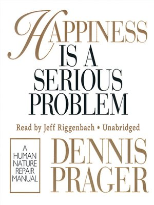 cover image of Happiness Is a Serious Problem