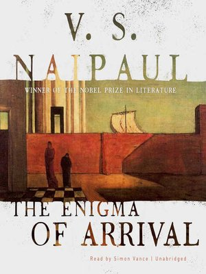 cover image of The Enigma of Arrival