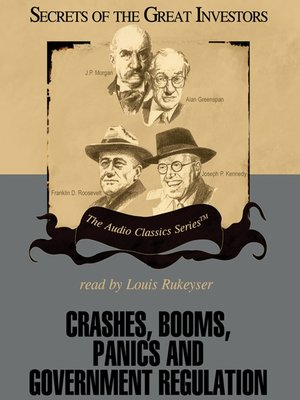cover image of Crashes, Booms, Panics and Government Regulation