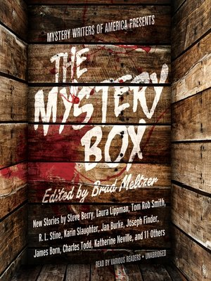 cover image of Mystery Writers of America Presents The Mystery Box
