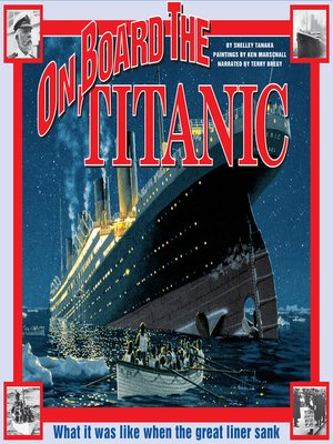 cover image of On Board the Titanic