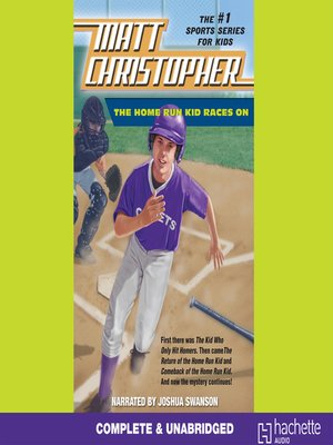 cover image of The Home Run Kid Races On
