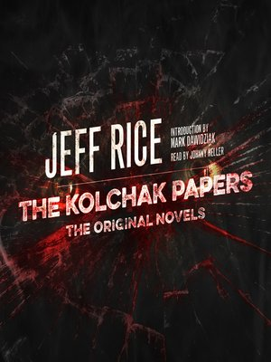 cover image of The Kolchak Papers