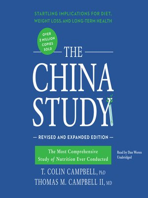 cover image of The China Study, Revised and Expanded Edition