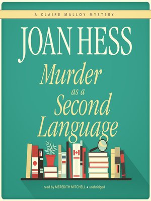 cover image of Murder as a Second Language