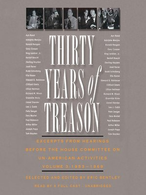 cover image of Thirty Years of Treason, Volume 3