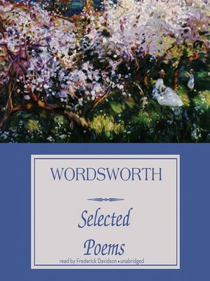 cover image of Wordsworth