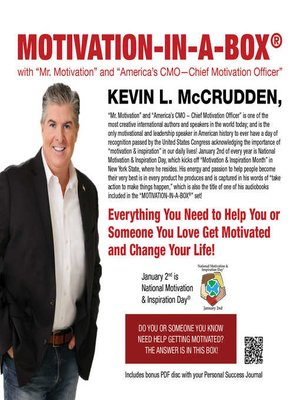 cover image of Motivation-in-a-Box®