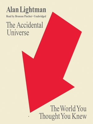 cover image of The Accidental Universe