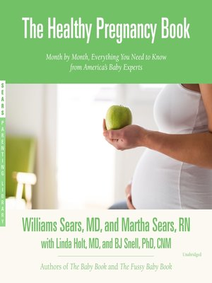 cover image of The Healthy Pregnancy Book