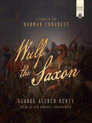 cover image of Wulf the Saxon