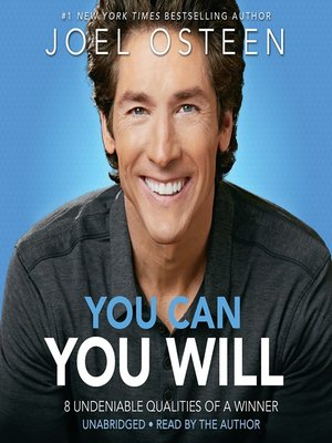 cover image of You Can, You Will