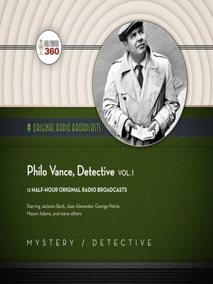 cover image of Philo Vance, Detective, Volume 1