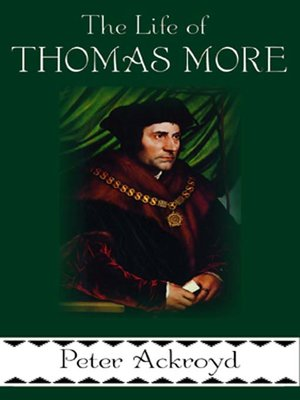 cover image of The Life of Thomas More