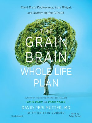 cover image of The Grain Brain Whole Life Plan