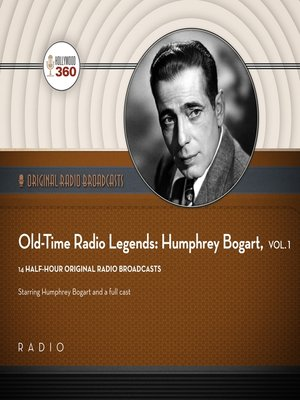 cover image of Old-Time Radio Legends, Volume 1
