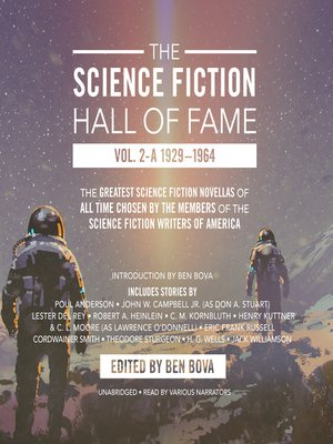 cover image of The Science Fiction Hall of Fame, Volume 2A