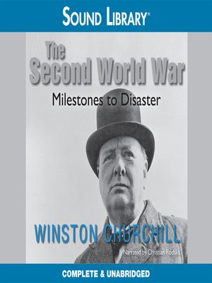 cover image of The Second World War: Milestones to Disaster