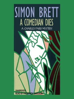 cover image of A Comedian Dies