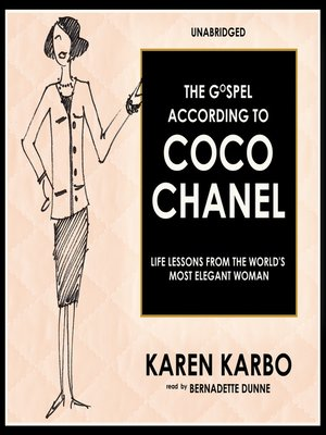 cover image of The Gospel According to Coco Chanel