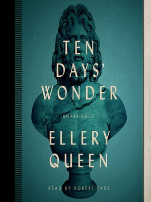 cover image of Ten Days' Wonder
